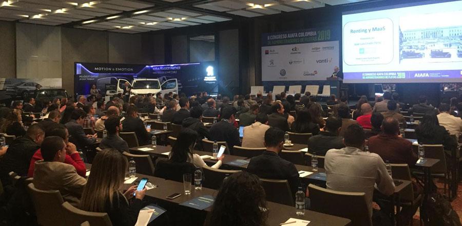 II Congresso AIAFA Colômbia reúne 250 frotistas