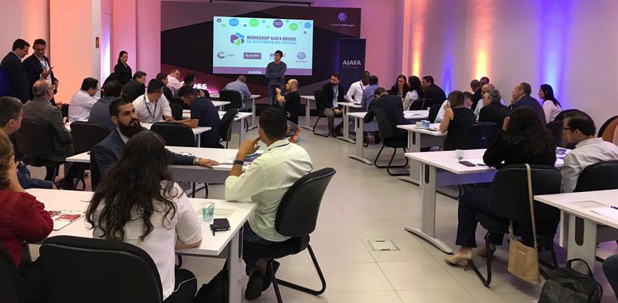 Workshop AIAFA Brasil em São Paulo discute tendências e tecnologias na gestão de frotas
