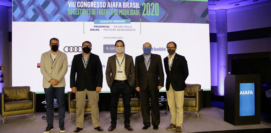 Congresso AIAFA Brasil 2020 debate tendências em mobilidade corporativa